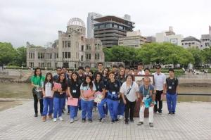 広島研修 viagem pedagógica a Hiroshima