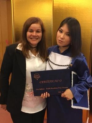 卒業式 2017。Formatura 2017