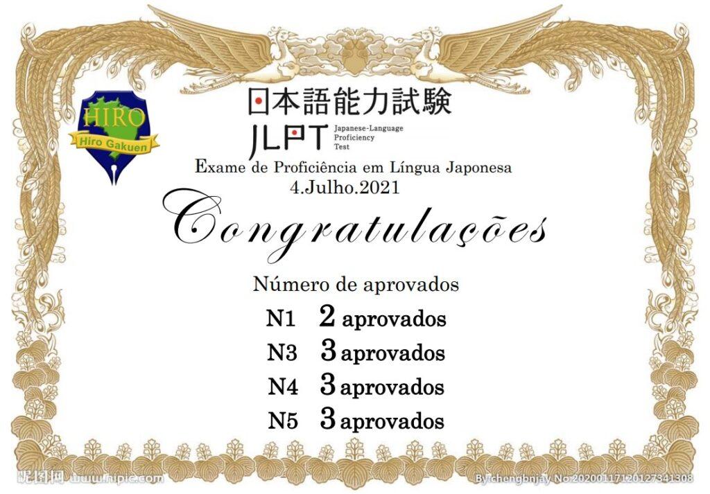 日本語能力試験結果